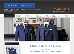 blue. tailoring room.さま